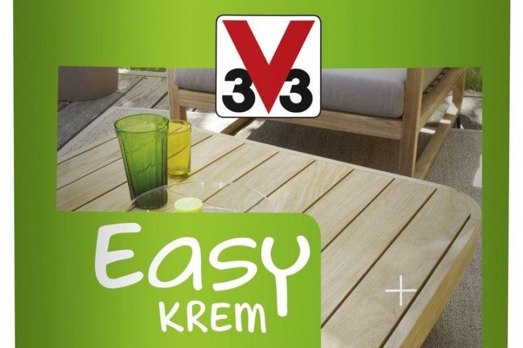V33 prezentuje olej do mebli ogrodowych EASY KREM