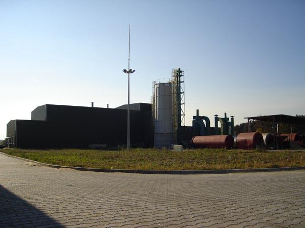 Fabryka w Mierczanach