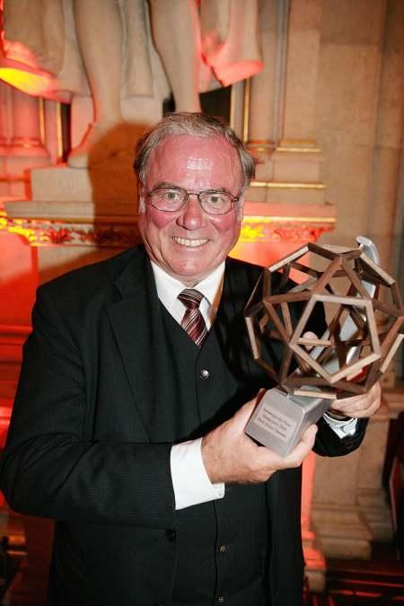 Ubiegłoroczny laureat nagrody<br>głównej - prof. J.K. Natterer<br>fot.Schweighofer-Prize