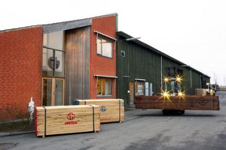 Biura Internationalt Hårdttræ<br>duńskiego oddziału tt Timber<br>fot. tt Timber