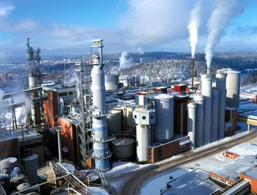Zakład UPM Kymenne w Kuusanniemi