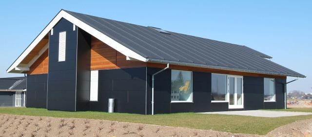 Dom pasywny w Danii ocieplony skalną wełną Rockwool