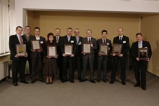 """Laureaci trzeciej edycji """"Partnera Roku"""" konkursu dla najlepszych dostawców przemysłu meblarskiego"""
