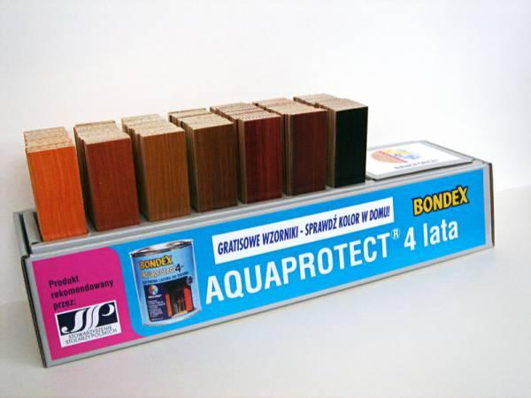 Wzornik kolorów Bondex Aquaprotect 4 lata