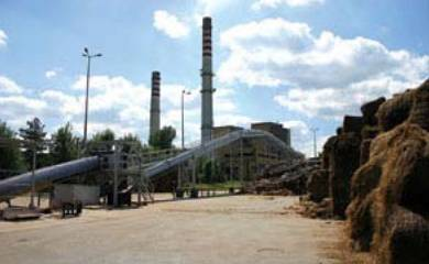 Elektrownia Stalowa Wola - Część instalacji spalania biomasy