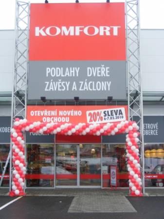 Otwarcie nowego sklepu w Pradze