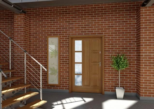 Drzwi drewniane Wisła