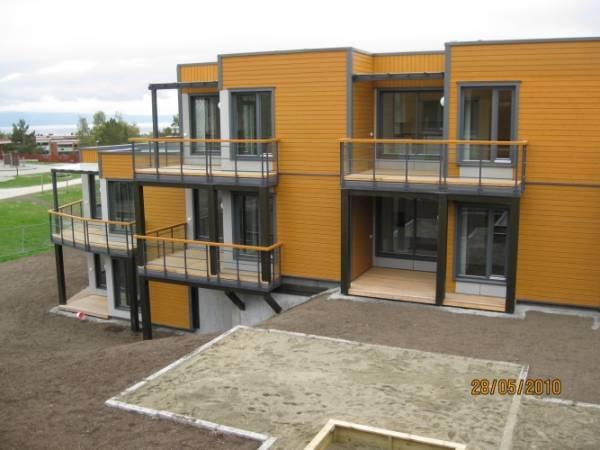 Wybudowane przez Unibep budynki w norweskim Trondheim