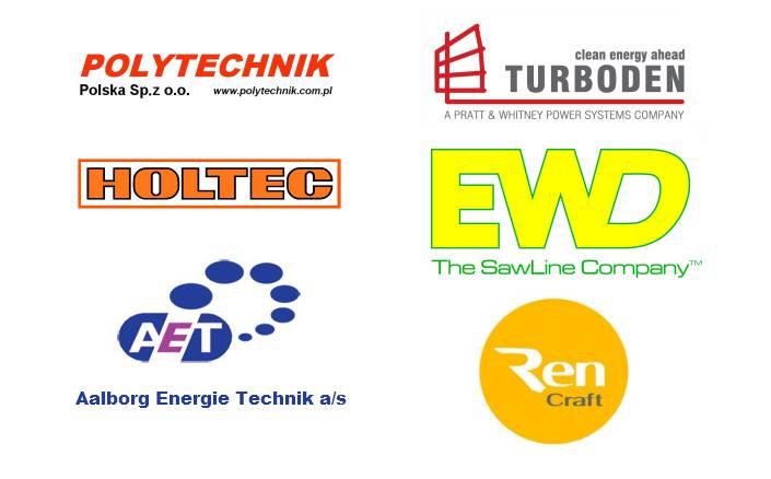 Sponsorzy konferencji Drewno = energia. Prawo, technika, szanse i zagrożenia