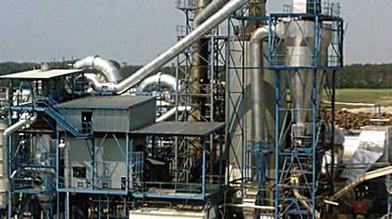 Fabryka płyt wiórowych w Malackách