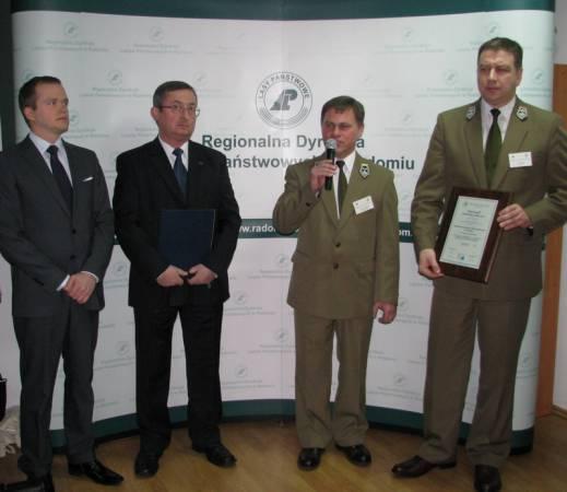 RDLP w Radomiu jako pierwsza zdobyła certyfikat PEFC