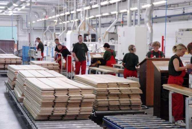 Linia produkcji deski podłogowej