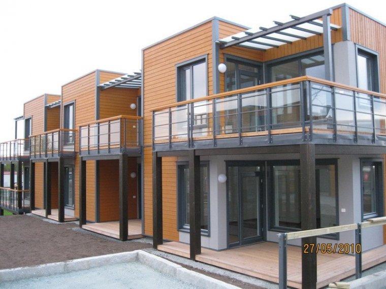 Przykład realizacji budynku modułowego w Brundalsgrenda (Norwegia)