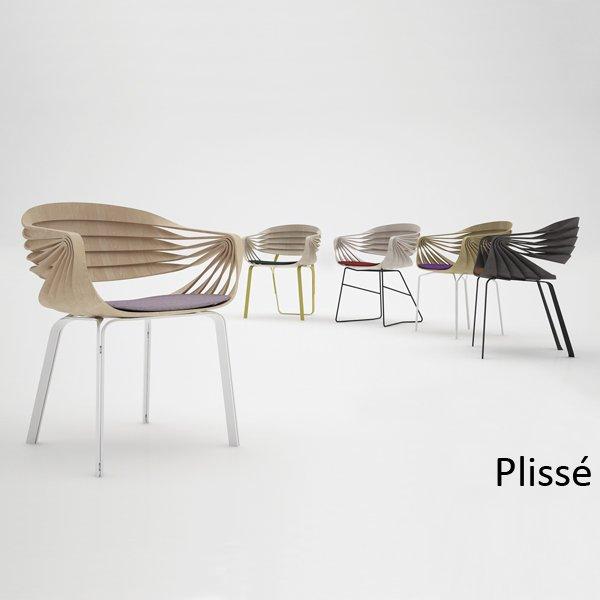 Ubiegłorczny zwycięzca - fotel Plissé zaprojektowny przez Francisco Ávila Añón z Quart de Poblet