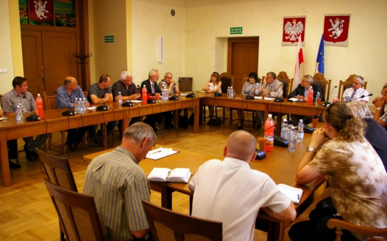 Spotkanie przedsiębiorców reprezentujących przemysł drzewny Kotliny Kłodzkiej z przedstawicielami Urzędu Marszałkowskiego Województwa Dolnośląskiego