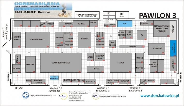 Plan ekspozycji targowej