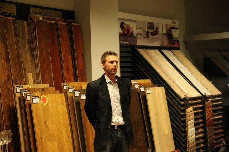 Tomasz Mielcarek, prezes poznańskiego salonu podłogowego Direct Floor
