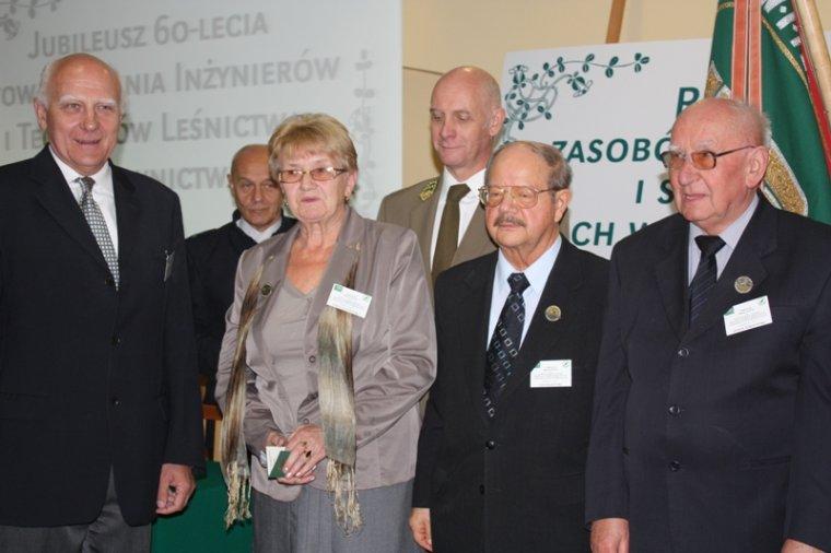 Stowarzyszenie Inżynierów i Techników Leśnictwa i Drzewnictwa ma 60 lat