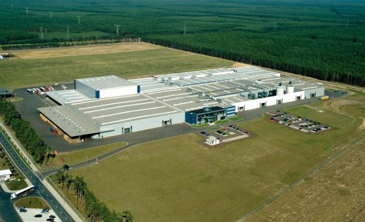 Zakład produkcji paneli laminowanych Classen w Baruth