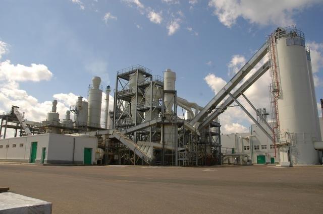 Fabryka płyt wiórowych w Nowogrodzie (Rosja)