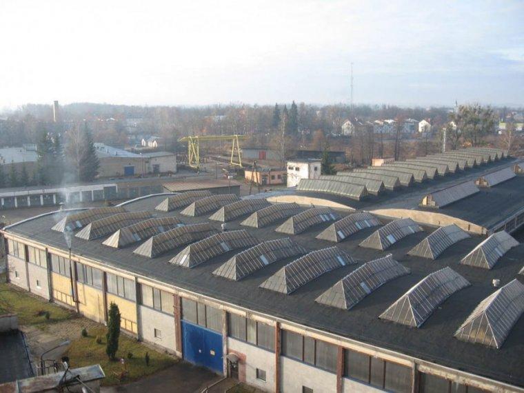 Hamech: Hale produkcyjne w Hajnówce