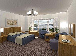 Należąca do GSR Fabryka Mebli Okrętowych Famos zajmuje się m.in. wyposażaniem hoteli