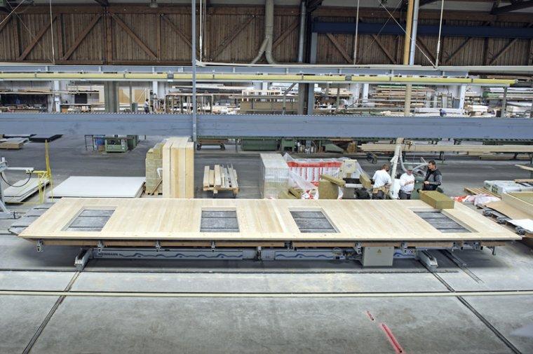 Produkcja modułów ścian
