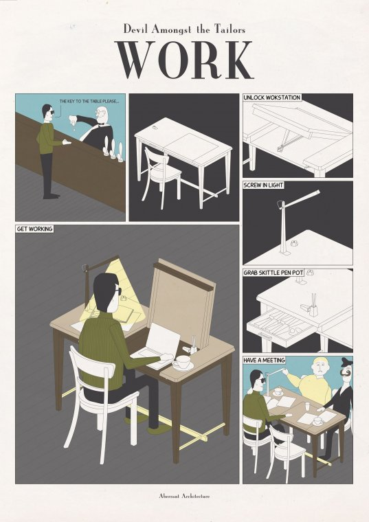 Stół do pracy