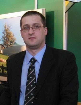 Dominik Kosmała, dyrektor Działu Domów Gotowych firmy Wolf System sp. z o.o.