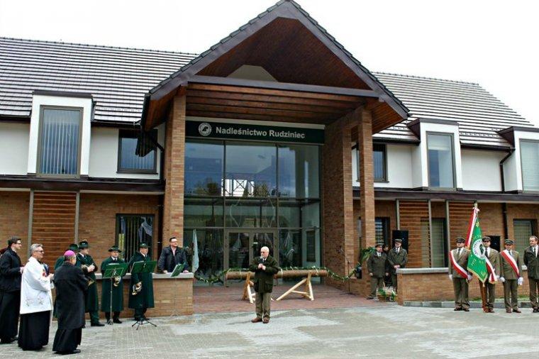 Nowa siedziba Nadleśnictwa Rudziniec