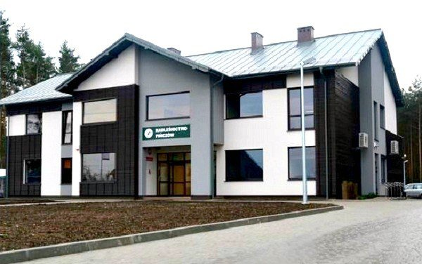 Nowa siedziba Nadleśnictwa Pińczów
