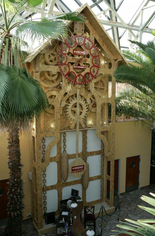 KronoZegar w zielonogórskiej Palmiarni