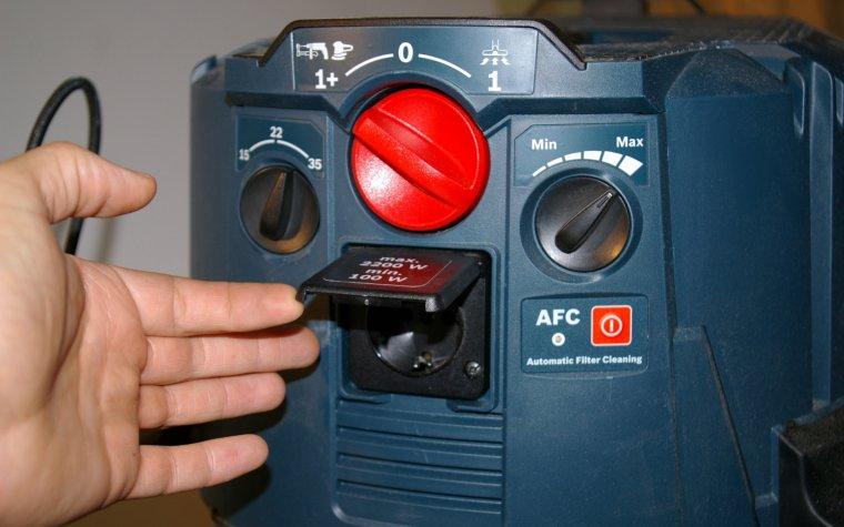 Panel sterowania odkurzaczem