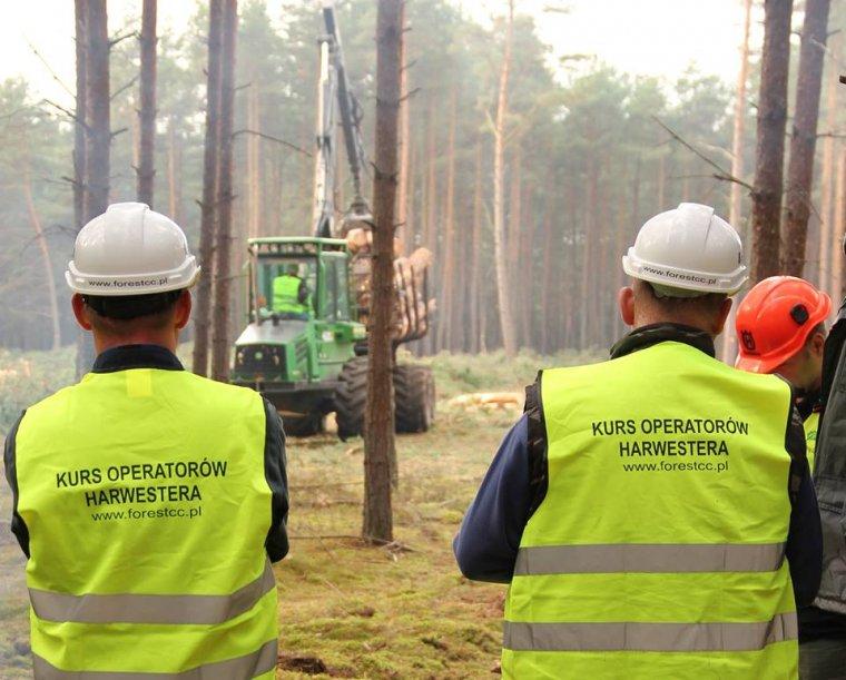 Szkolenia finansowane z Unii Europejskiej: drwal, harwester, biomasa