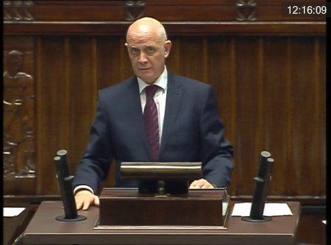 Na pytania posłów o Lasy Państwowe odpowiadał wiceminister Janusz Zaleski