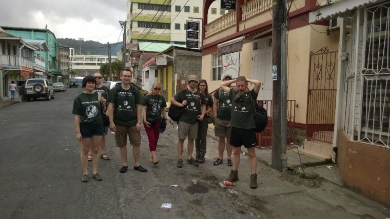 Na ulicach Roseau - stolicy Dominik
