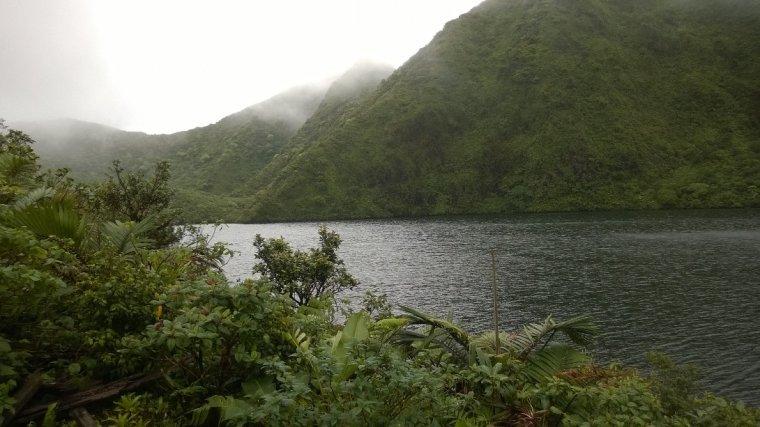 Jezioro w kraterze wygasłego wulkanu - Boeri Lake