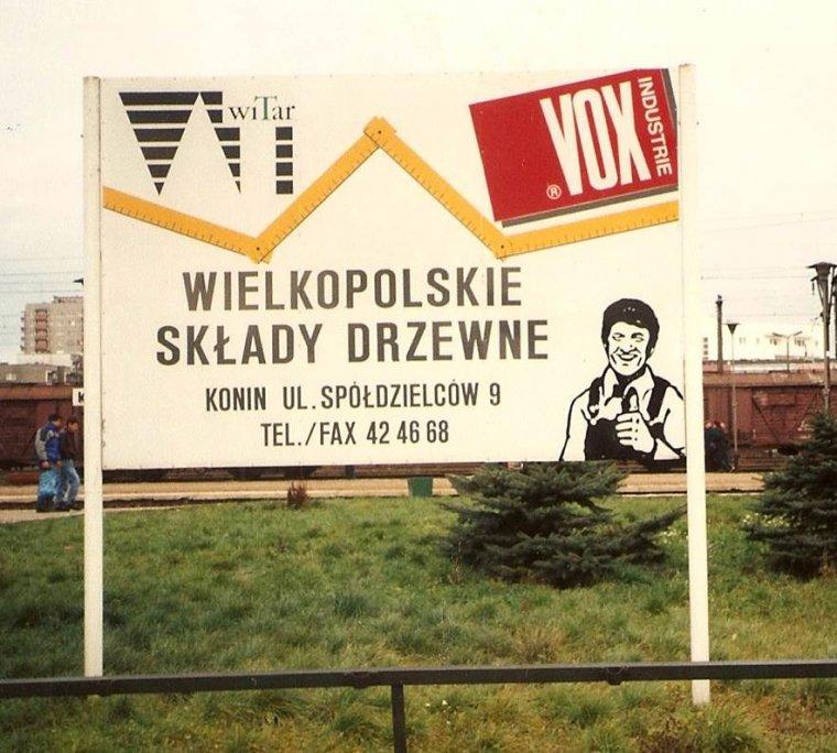 Wielkopolskie Składy Drzewne Vox-Witar były jedną z pierwszych w kraju sieci zajmujących się sprzedażą materiałów drzewnych