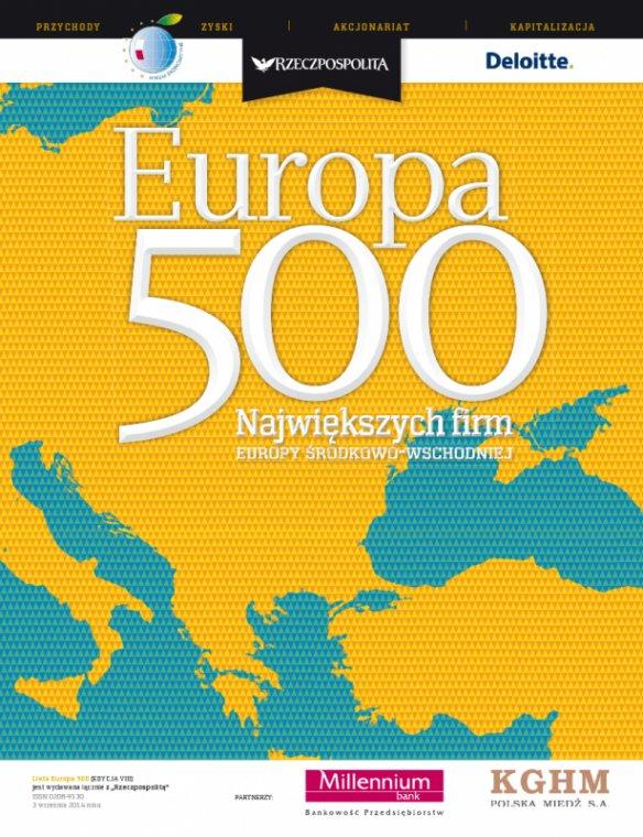 Lasy Państwowe w rankingu EUROPA 500