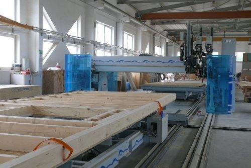 Linia produkcji konstrukcji budynków prefabrykowanych