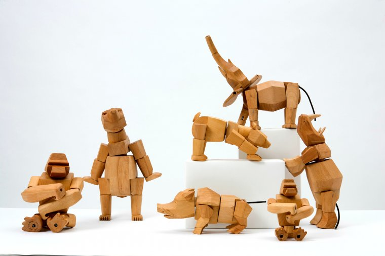 Zabawki z drewna - Drewniane zoo