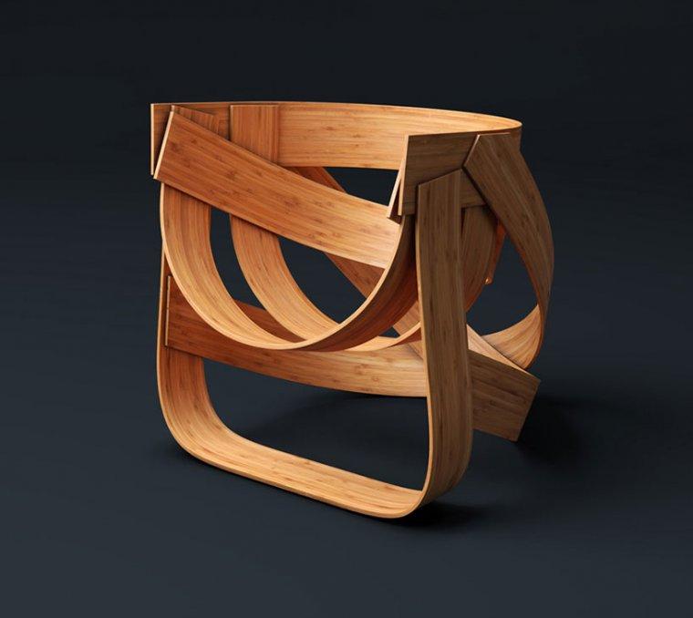 Bamboo chair - Tejo Remy & René Veenhuizen