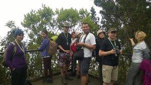 Przed wejściem na górę zostaliśmy podzieleni na 3 grupy.