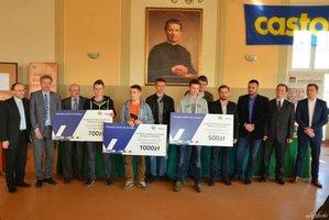 Laureaci konkursu Sprawny w zawodzie - Technik Technologii Drewna