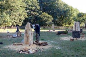 IX Międzynarodowy Plener Rzeźbiarski Puszcza Zielonka