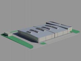 Wizualizacja rozbudowy zakładu Trak-Met