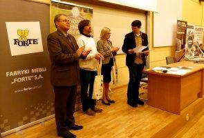 Finał II Ogólnopolskiego Młodzieżowego Konkursu Wiedzy o Drewnie