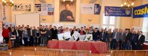 Uczestnicy konkursu Sprawny w zawodzie - Technik technologii Drewna