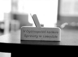Sprawny w zawodzie - Konkurs dla uczniów w zawodzie Stolarz i Technik Technologii Drewna