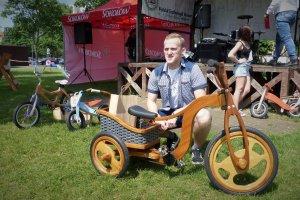 Kacper Manikowski zwycięzcą konkursu Zbuduj Rower z Drewna